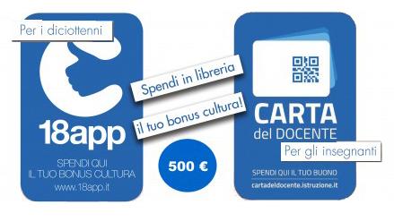 500 euro di libri per i nati nel 1998…e per i docenti